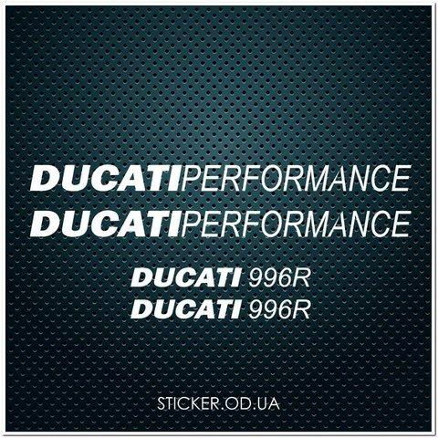 Набор наклеек DUCATI 996 R