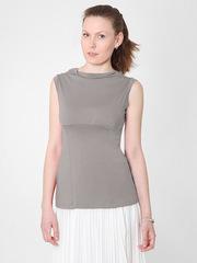 B5102-7 блузка женская, серая