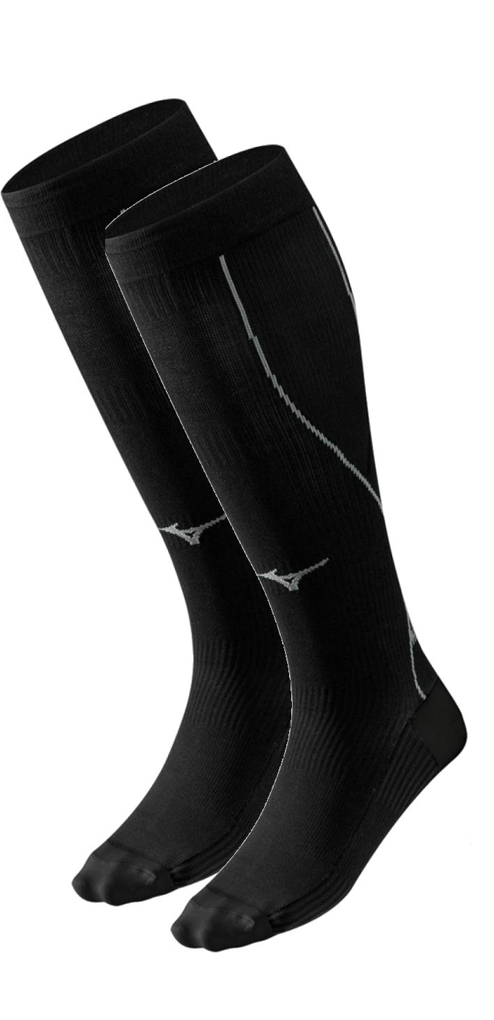 Компрессионные гольфы Mizuno Compression Sock (J2GX5A101 90) черные
