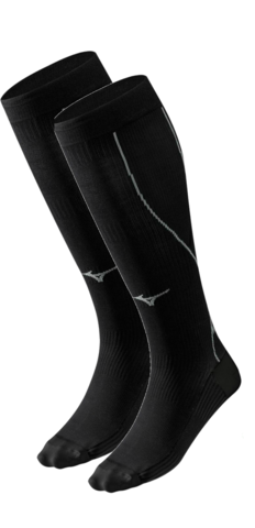 Компрессионные гольфы Mizuno Compression Sock (J2GX5A101 90) черные