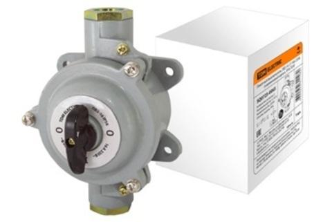 Пакетный выключатель ПВ3-16 3П 16А 220В, силуминовый корпус, IP56 TDM