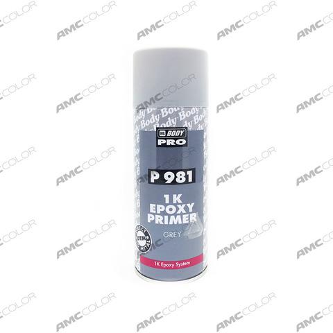 Body 981 эпоксидный грунт серый 400мл (аэрозоль)