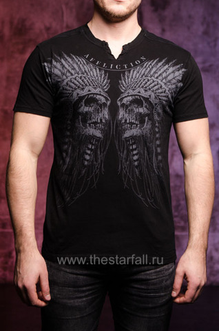Футболка Affliction WICHITAWA