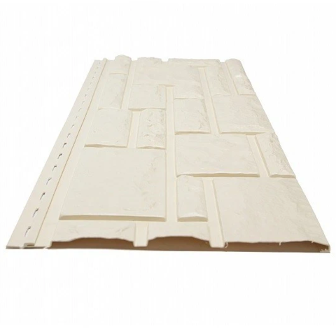 Фасадная панель Доломит Rockvin Слоновая кость 3000х260 мм