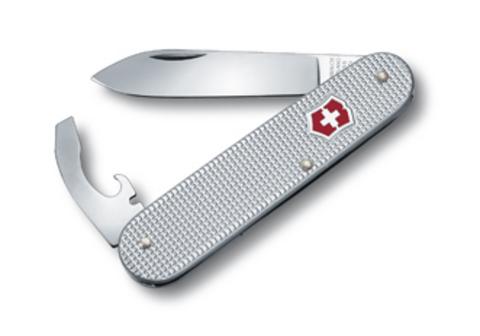 Нож Victorinox Alox Bantam, 84 мм, 5 функций, серебристый