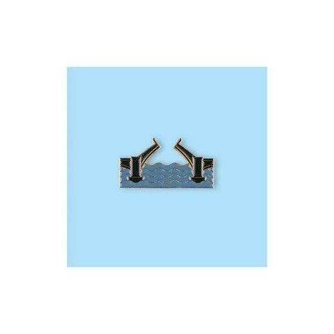 Значок металлический Разводной мост