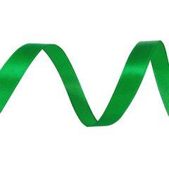 Лента Атлас Зеленый 2,5 см * 22,85 м