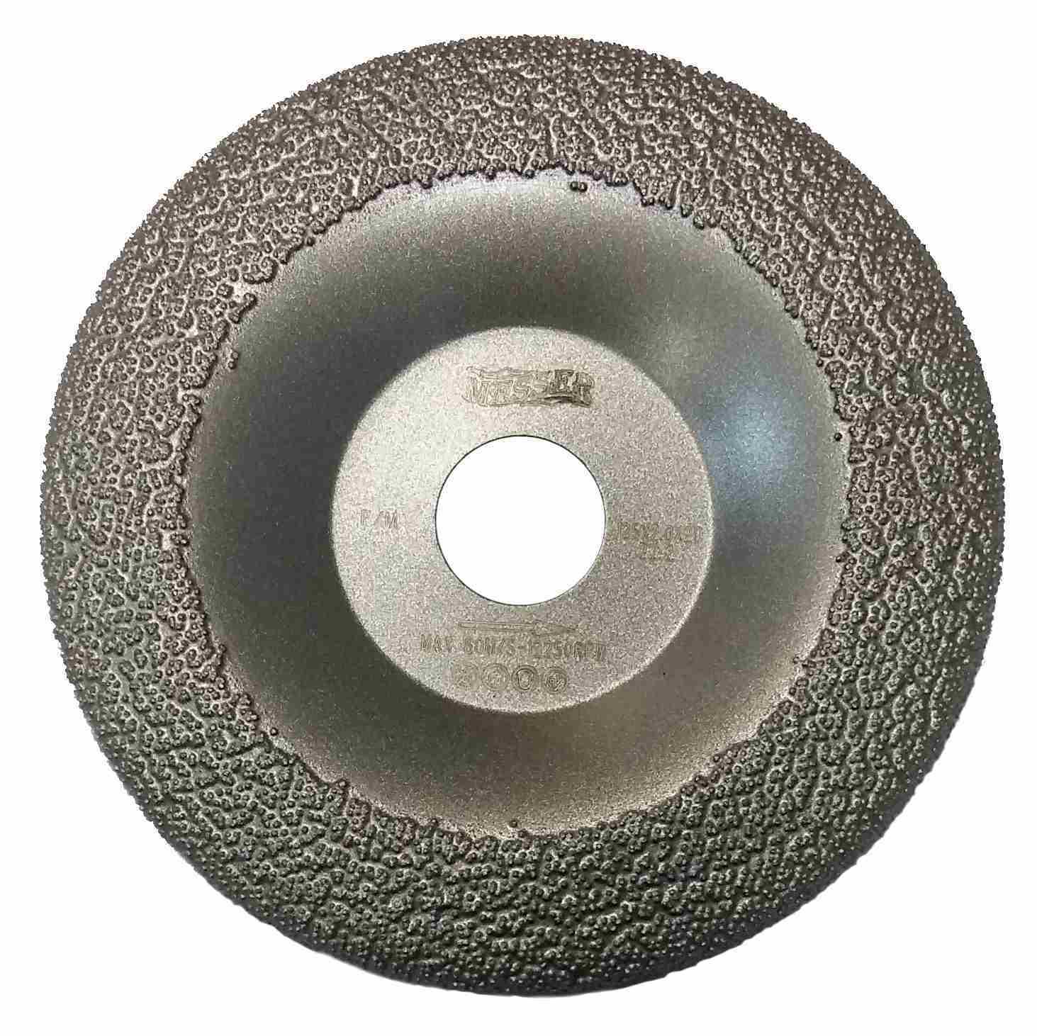 Алмазная чашка по металлу 125 мм MESSER F/M
