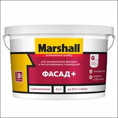 Краска для фасада Marshall BW (Белый)