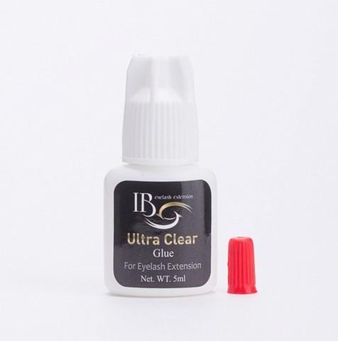 Клей I-Beauty Ultra Clear, белая крышка, прозрачный, 2-3 сек., 5 мл.