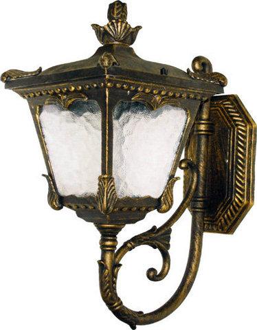 Светильник садово-парковый, 60W 230V E27 черное золото, 6003QS (Feron)