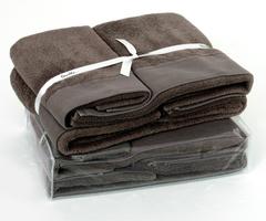 Полотенце 55х100 Devilla Senses коричневое