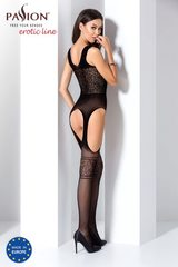Сексуальный боди комбинезон из ажурной сетки (061) черный