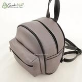 Рюкзак Саломея 1021 серый металлик