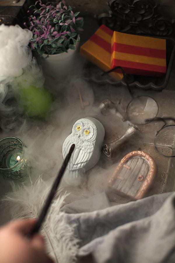 Мыло ручной работы, отлито в форме Дверь