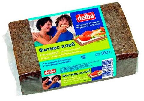 Фитнесс-хлеб Delba, 500г