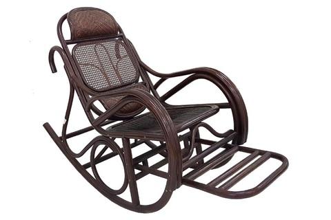 Кресло-качалка «Джеральдино» с выдвижной подножкой