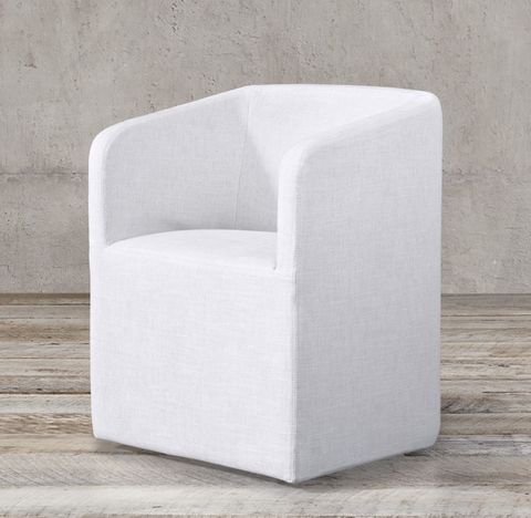 Ellison Barrelback Fabric Armchair