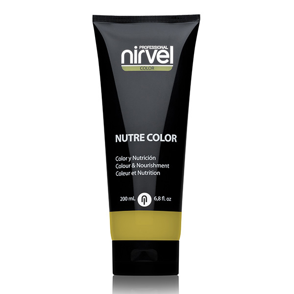 Гель-маска питательная Золотистая Nirvel Nutre Color Golden 200мл