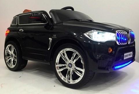 Детский электромобиль Rivertoys BMW X5 E002KX-BLACK черный