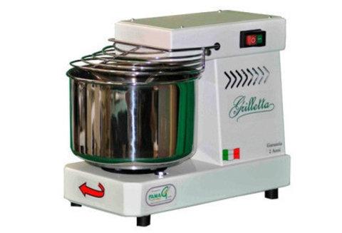 Тестомес спиральный для дома, кафе на 5 кг Grilleta Famag IM5, Италия. Фото
