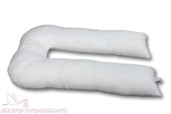 АльВиТек. Подушка для беременных Бамбук U-340, иск. лебяжий пух/бамбук
