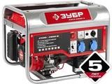 Генератор бензиновый, ЗУБР ЗЭСБ-2800-Э, 4-х тактный, ручной и электрический пуск, 2800/2500 Вт, 220/12 В
