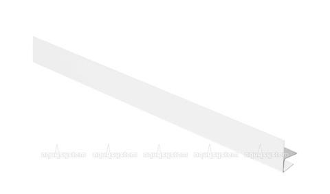 F - профиль Аквасистем оцинкованный с полимерным покрытием PURAL 2 м