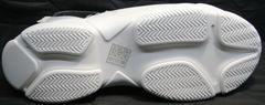 Летняя обувь на толстой подошве женская Small Swan PM23-3 White.