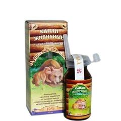 Капли Живичные на льняном масле 10%, 10 мл. (Медведь)