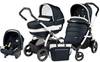 Коляска 3 в 1 Peg-Perego Book 51 S Elite Modular Luxe Blue