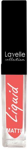 Лавелль жидкая матовая помада LS-10 тон 05 яркий коралловый 5мл