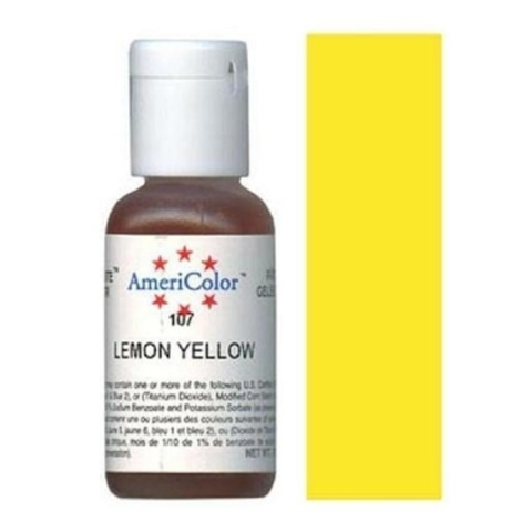 Краситель Americolor, Lemon Yellow