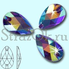 Купите пришивные стразы оптом Drope Purple Velvet AB в магазине в Москве купите