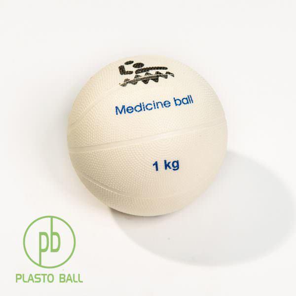 Медицинский мяч весом 1 кг для тренировок ватерполистов