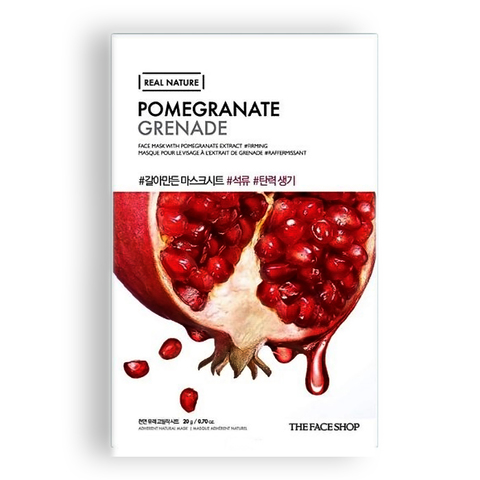 THE FACE SHOP Real Nature Pomegranate, 20г