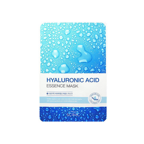 Маска для лица тканевая с гиалуроновой кислотой Scinic Hyaluronic Acid Essence Mask