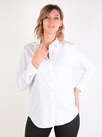 Евромама. Блуза-рубашка для беременных и кормящих, белый