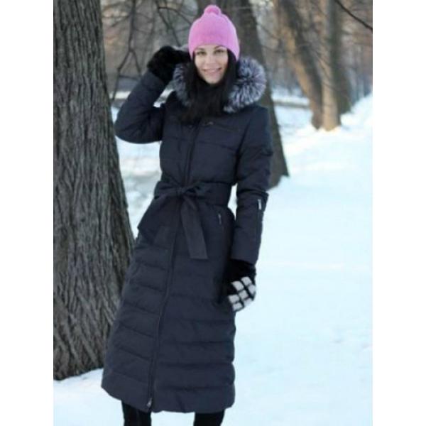 Купить Женское зимнее длинное пальто Lana (Лана) по выгодной цене от ... 2b31a400445