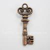 "Подвеска ""Ключ"" (цвет - античная медь) 31х12 мм"