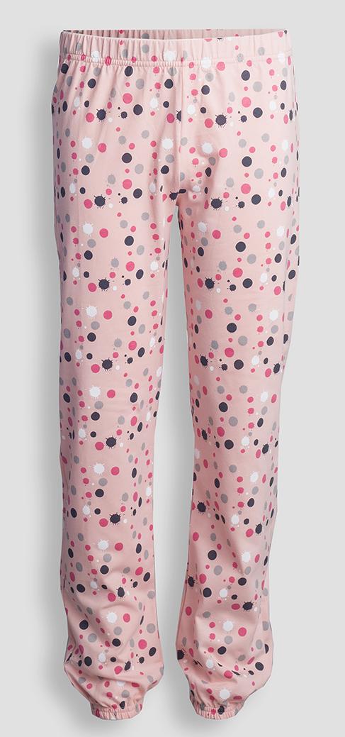 Детские женские брюки пижамные E18K-14D101