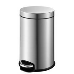 Ведро для мусора Weltwasser WW Erfie MT 12L матовая сталь