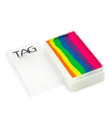 Аквагрим TAG 30 гр Сплит-кейк Неоновая радуга