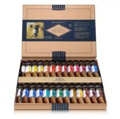 Набор акварельных красок Mijello Mission Gold Pure Pigment 24цв х 15 мл