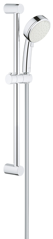New Tempesta Cosmopolitan 100 II Душевой гарнитур, душевая штанга 600 мм, 5,7 л/мин
