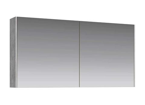 Зеркальный шкаф Mobi 100 бетон светлый