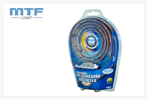 Набор светодиодной подсветки MTF Light 1X2A305BC с контроллером Slim 1м (синий)