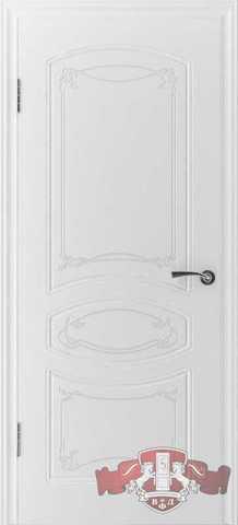 Дверь Владимирская фабрика дверей 13ДГ0, цвет белая эмаль, глухая