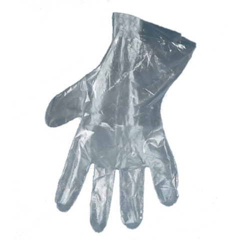 Перчатки одноразовые полиэтиленовые Premium черные (100 шт/уп)