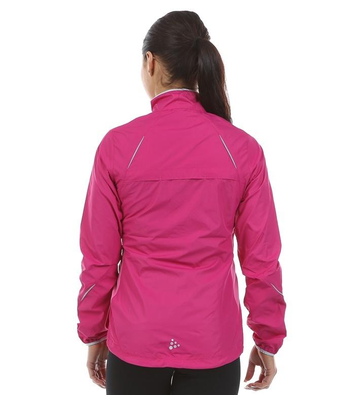 Женская беговая куртка Craft Prime Run (1903171-2403) малиновая  фото